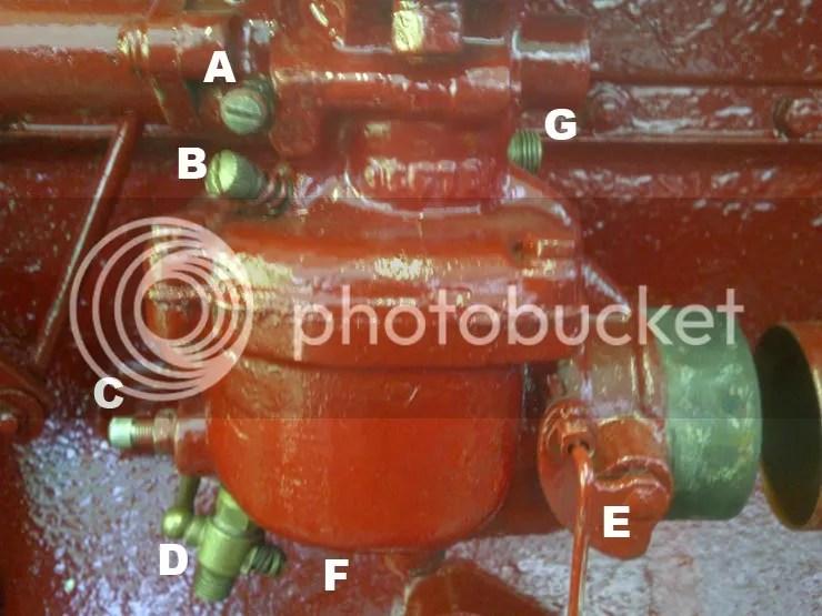 Farmall M Carburetter Setup