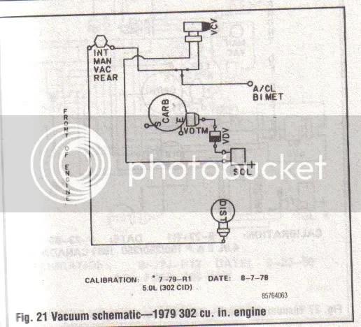 1978 Ford F100 302 Vacuum Diagram - Data Wiring Diagrams