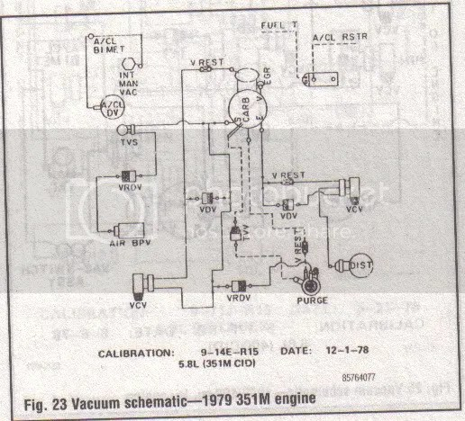 1976 Ford Vacuum Diagram - Data Wiring Diagram Update