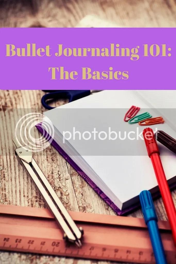 Bullet Journaling 101 The Basics