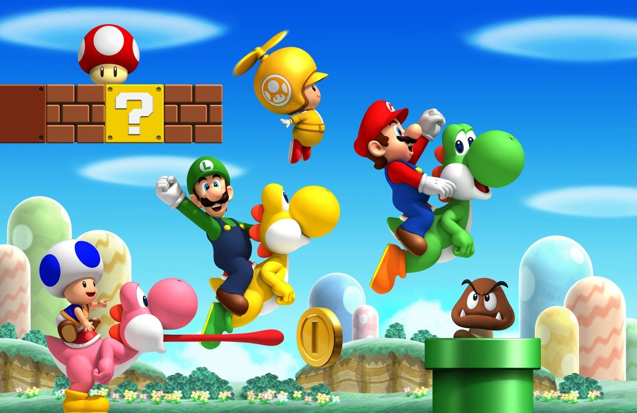 Super Mario 3d Hd Wallpaper New Super Mario Bros Wii Ha Vendido 10 Millones De