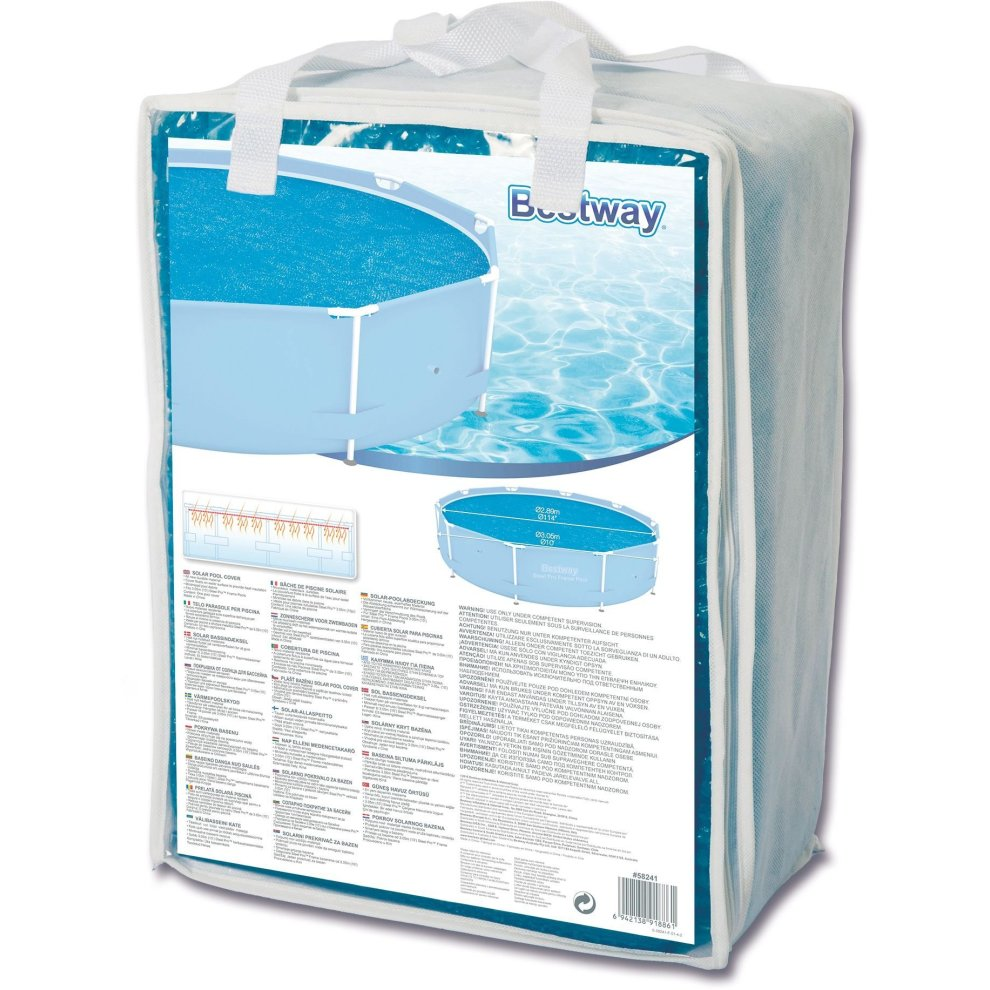 Solarplane Pool Intex 305 Bestway Solar Pool Cover 10 Feet