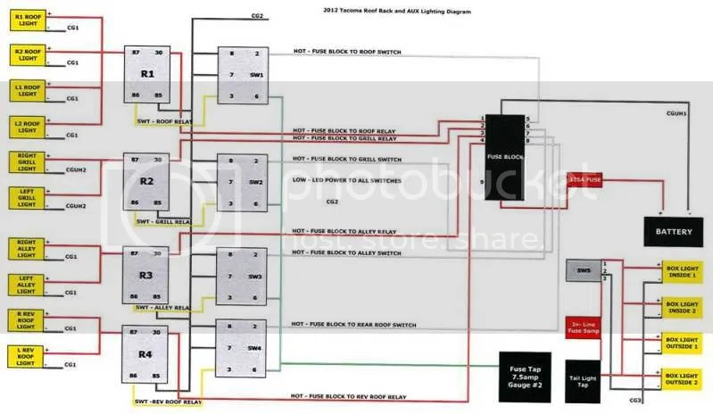 2012 Toyota Tacoma Wiring Harness Diagram Wiring Diagram