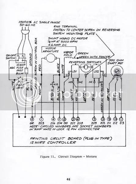 milling machine electrical wiring