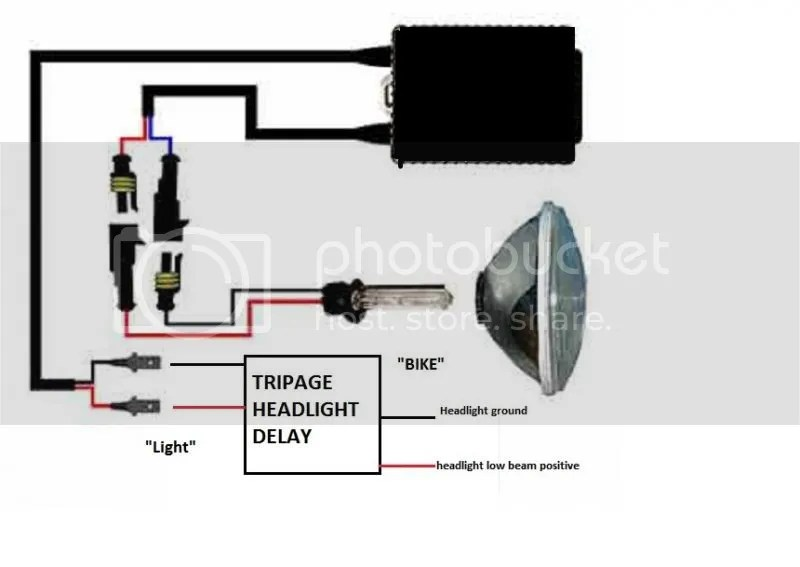 Universal Headlight Delay Relay