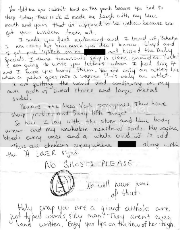 e-closure - documenting breakup letters anonymously online