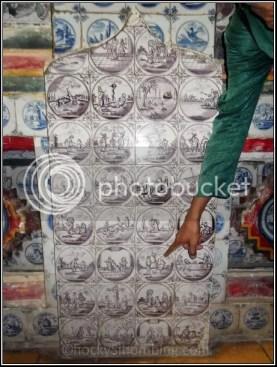 Porselen di Kraton Kasepuhan Cirebon