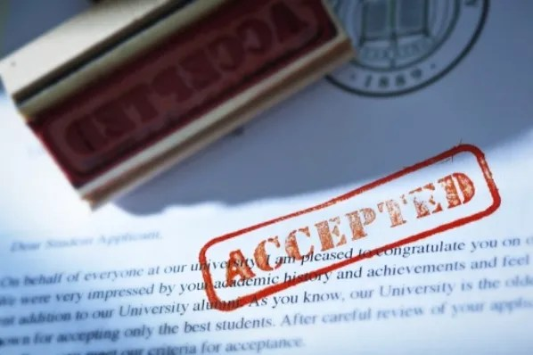 IWF - Should Over-the-Top College Acceptance Letters Woo Students? - college acceptance letters