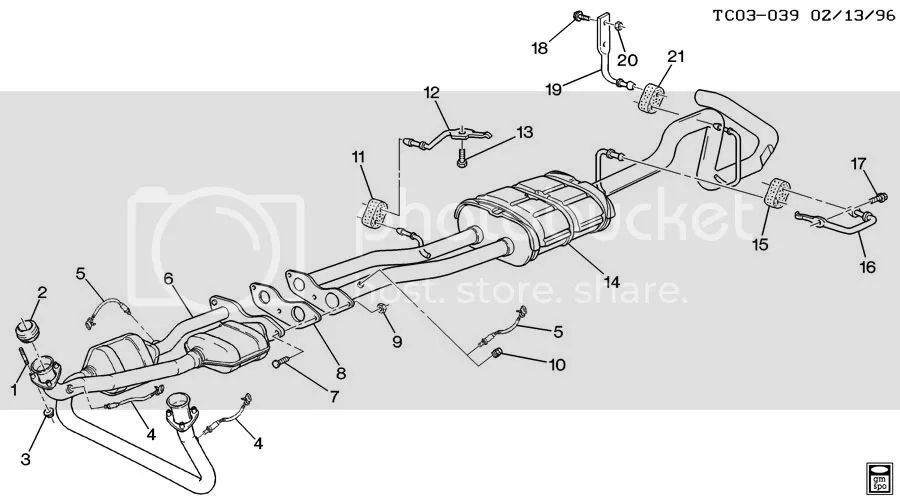 chevy suburban exhaust system diagram on chevy 5 7l engine diagram