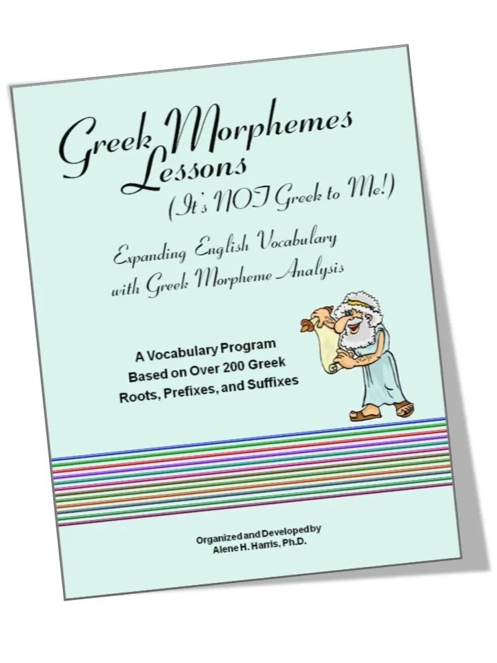 Greek Morphemes \u2013 A Review Life with the Tribe