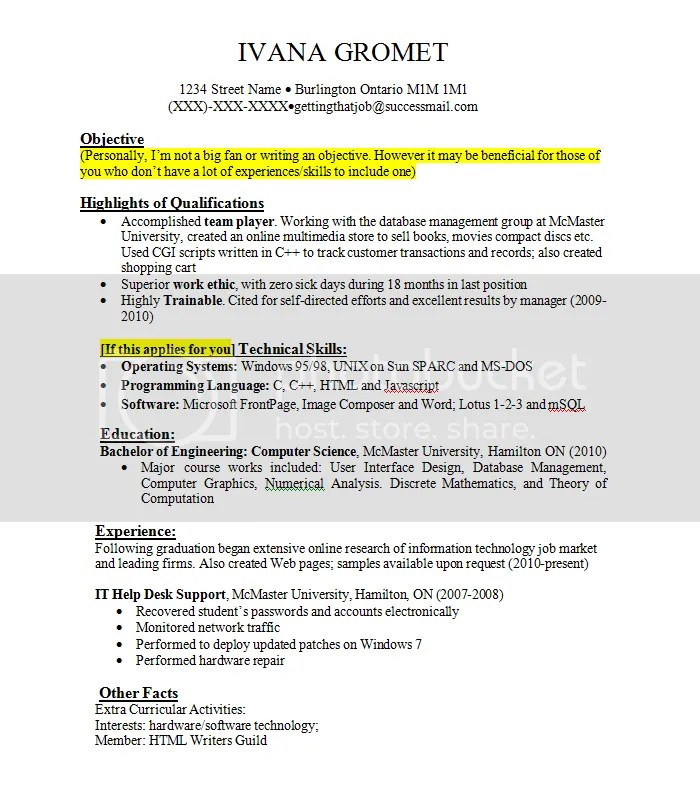 resume examples with job experience updated - Resume Examples Work Experience