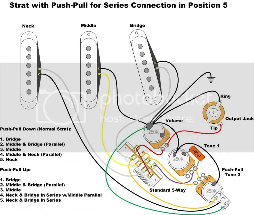 strat with push pull switch wiring diagrams but now