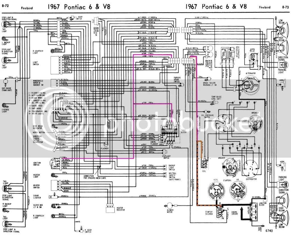 1967 gto wiring diagram download