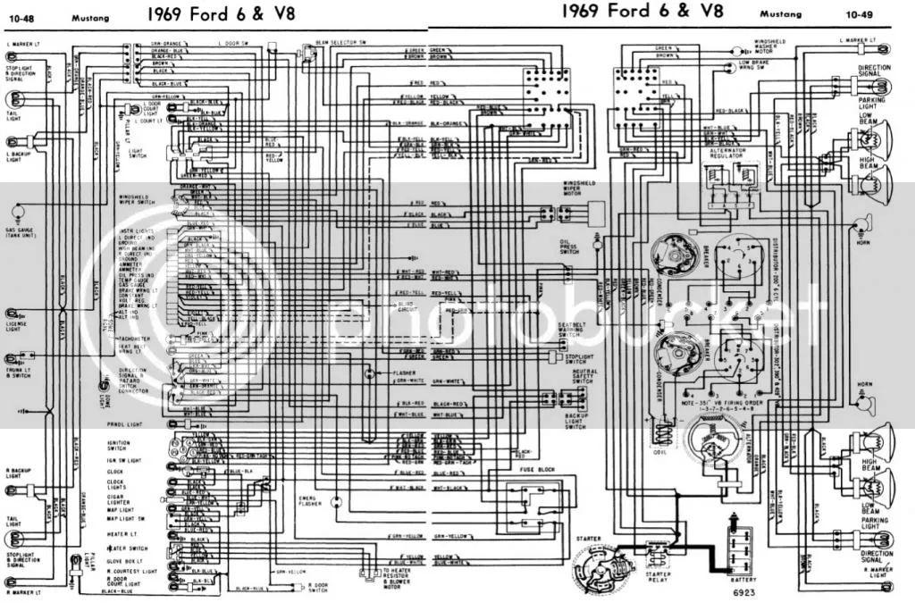 1969 mustang wiring schematic