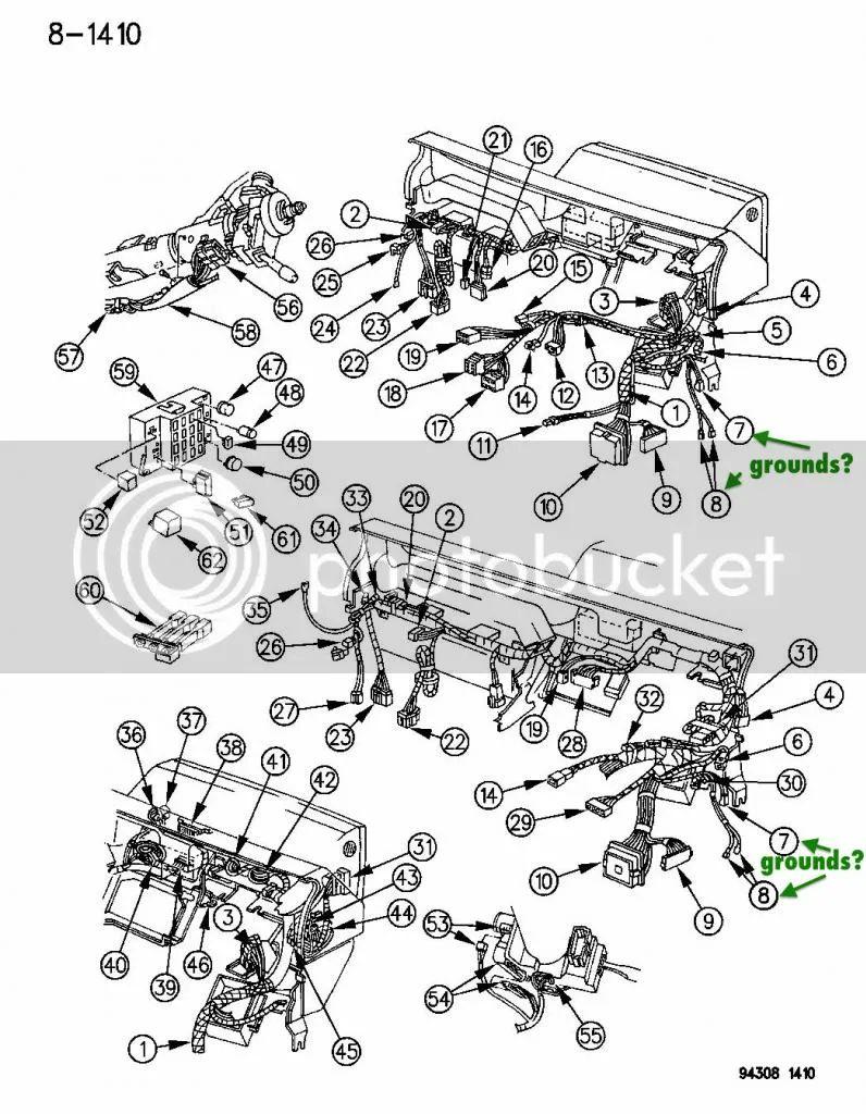 1994 dodge dakota fuel system wire diagram