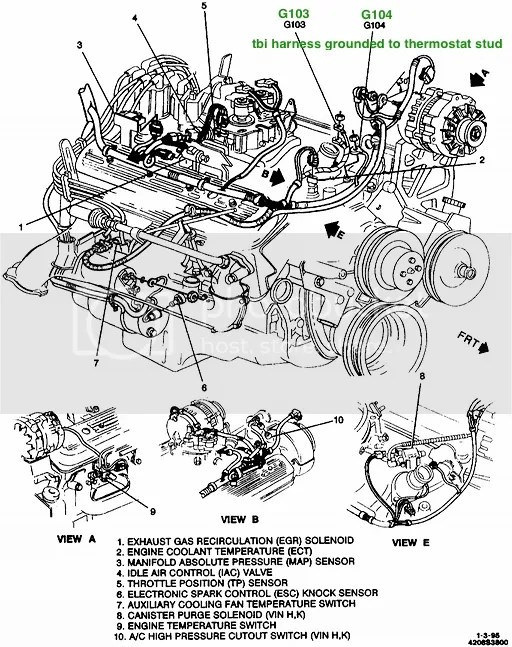 350 Chevy Wiring Harness Schematic Diagram Electronic Schematic