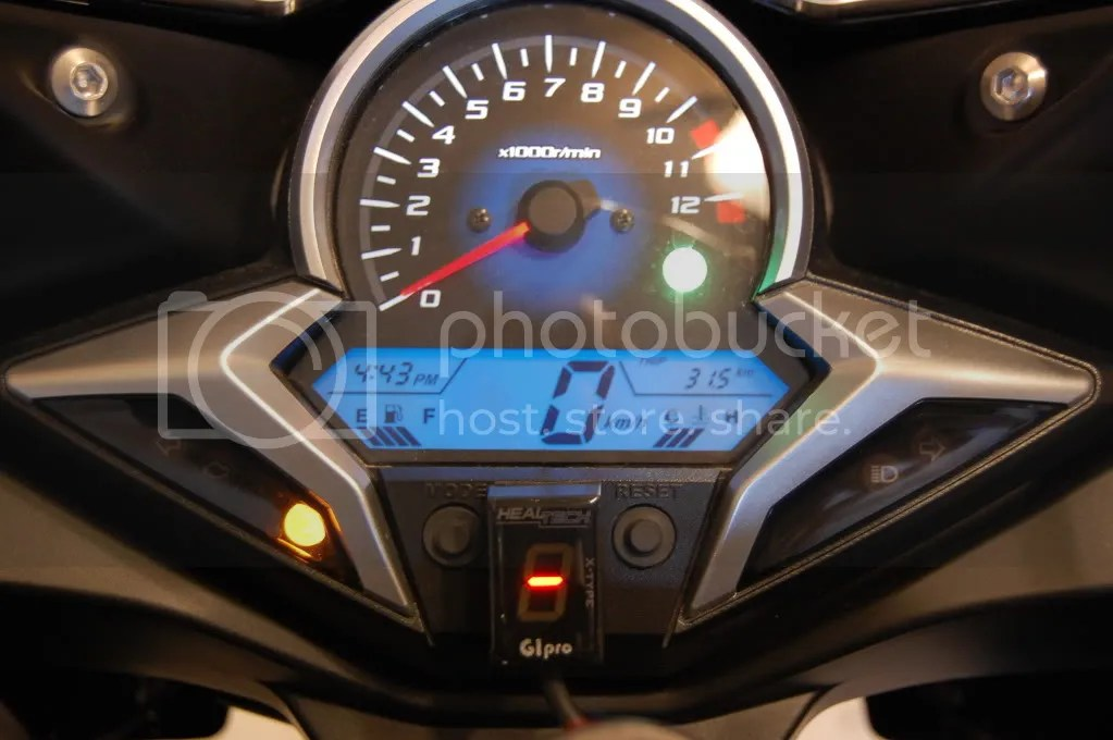HealTech Gear Indicator Pro-X Type - Honda CBR250R Forum  Honda CBR