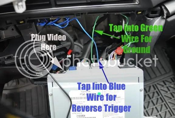 Club Scion tC - Forums - Backup Camera Install TC2 Alpine HU