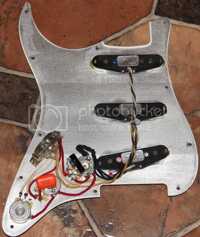 I love Eric Johnson strat wiring