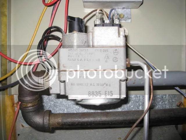 Comfortmaker/Snyder General Gas Furnace - No Heat - DIY Appliance