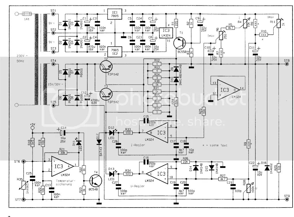 regulated power supply projects diy