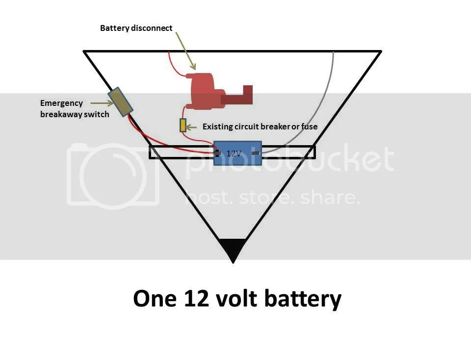jayco battery disconnect Schaltplang