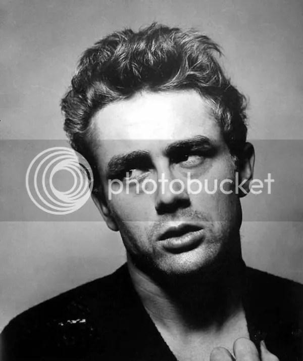 James Dean black & white photo