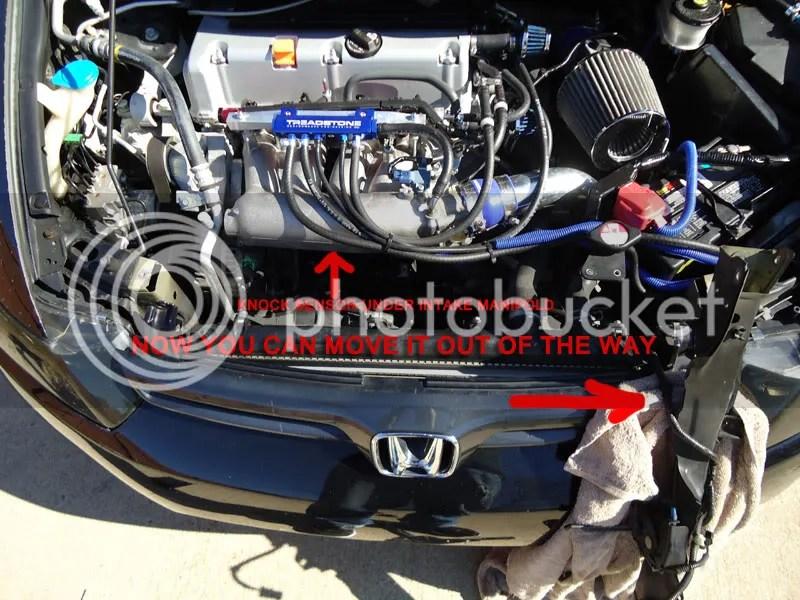 DIY Replacing Knock Sensor P0325 - 8th Generation Honda Civic Forum