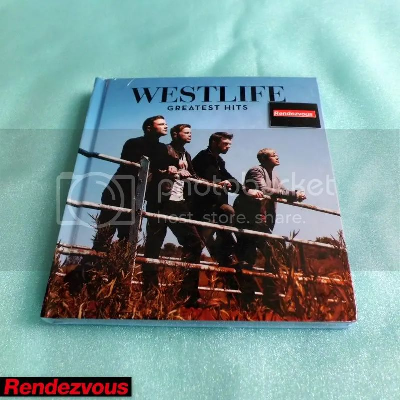 Westlife greatest hits 2011 2 cd dvd deluxe edition box