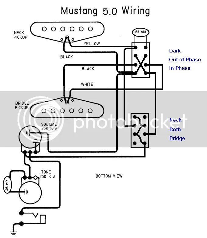 modified mustang wiring guitarnutz 2