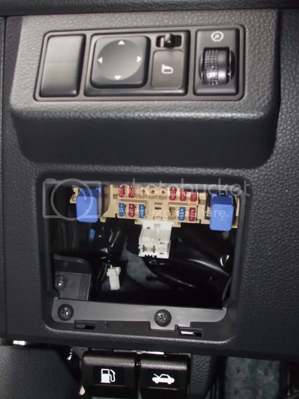 Fuse/Module Locations (PICS) - Nissan Versa Forums