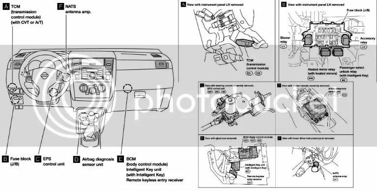 2011 Nissan Fusebox Diagram Wiring Diagram
