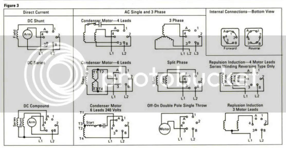 furnas reversing switch wiring diagram