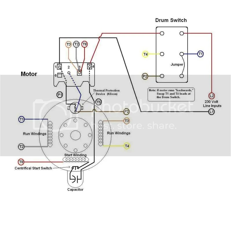 Dayton Gearmotors Wiring Diagram For Psc Wiring Diagram
