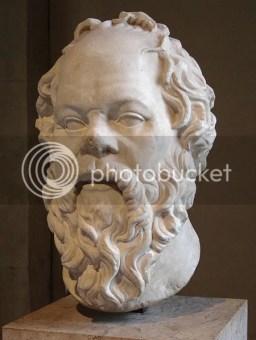 Socrates seorang Filsuf besar asal Athena, Yunani