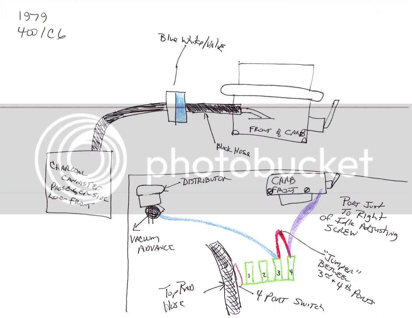 78 Bronco Vacuum Diagram