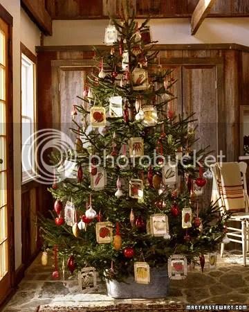 seed packet christmas tree
