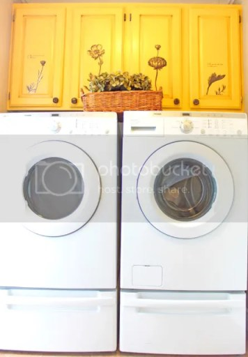yellow laundry