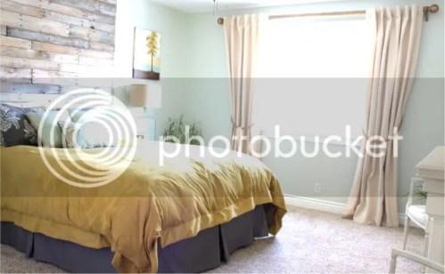 Gold master bedroom, inexpensive decor, diy bedroom