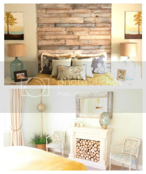 beachy glam master bedroom