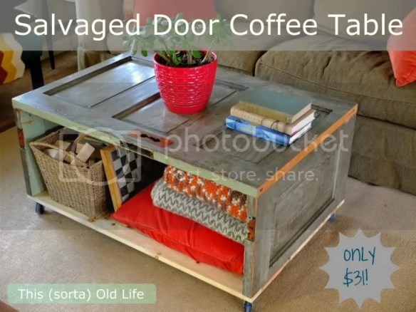 door coffee table