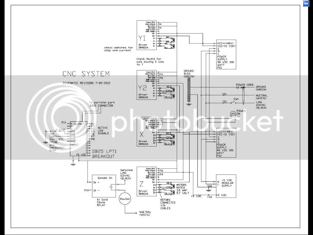 db25 1205 dm860a wiring diagram to