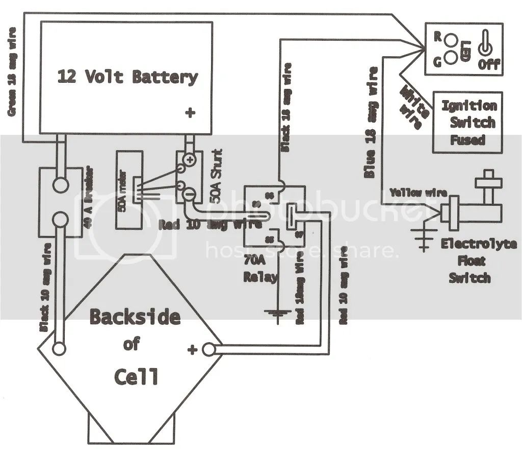 wiring kit for 2 amps