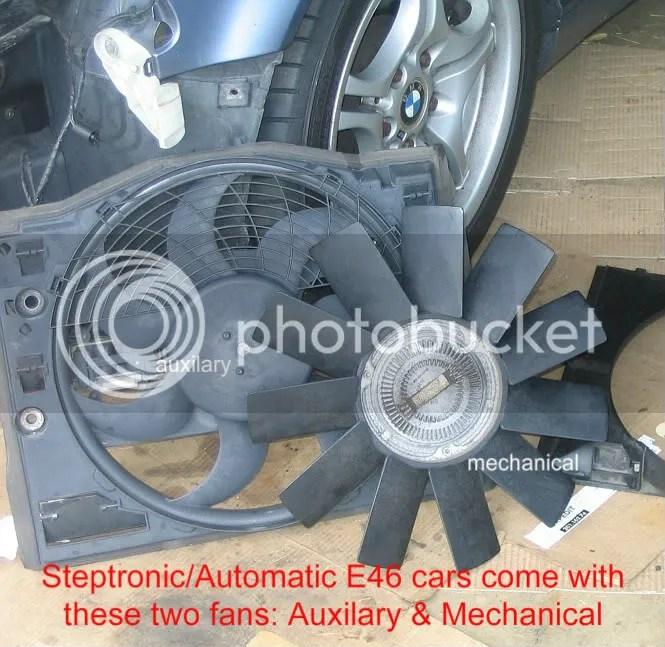 Mechanical Fan to Electric Fan Swap (Automatic\u0027s) doityourself