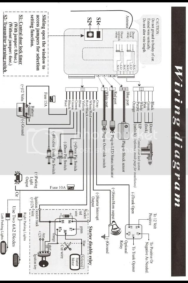 corsa c central locking wiring diagram