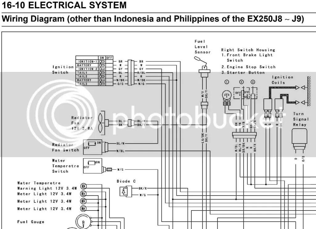 Kawasaki 250 Wiring Diagram Better Wiring Diagram Online