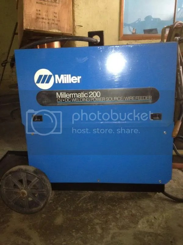 Another Millermatic 200 Archive - WeldingWeb™ - Welding forum for