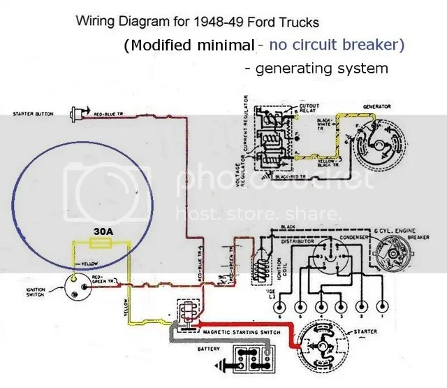 1950 ford truck wiring diagram ford truck blinker upgrade ford truck
