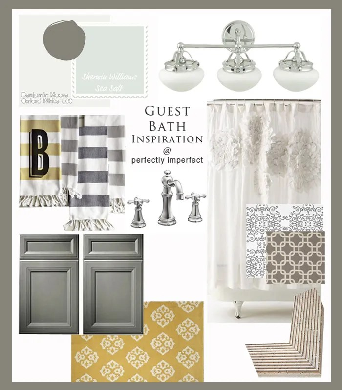 Bathroom Decorating Ideas Chalk Paint Gray Rooms Perfectly - guest bathroom decorating ideas