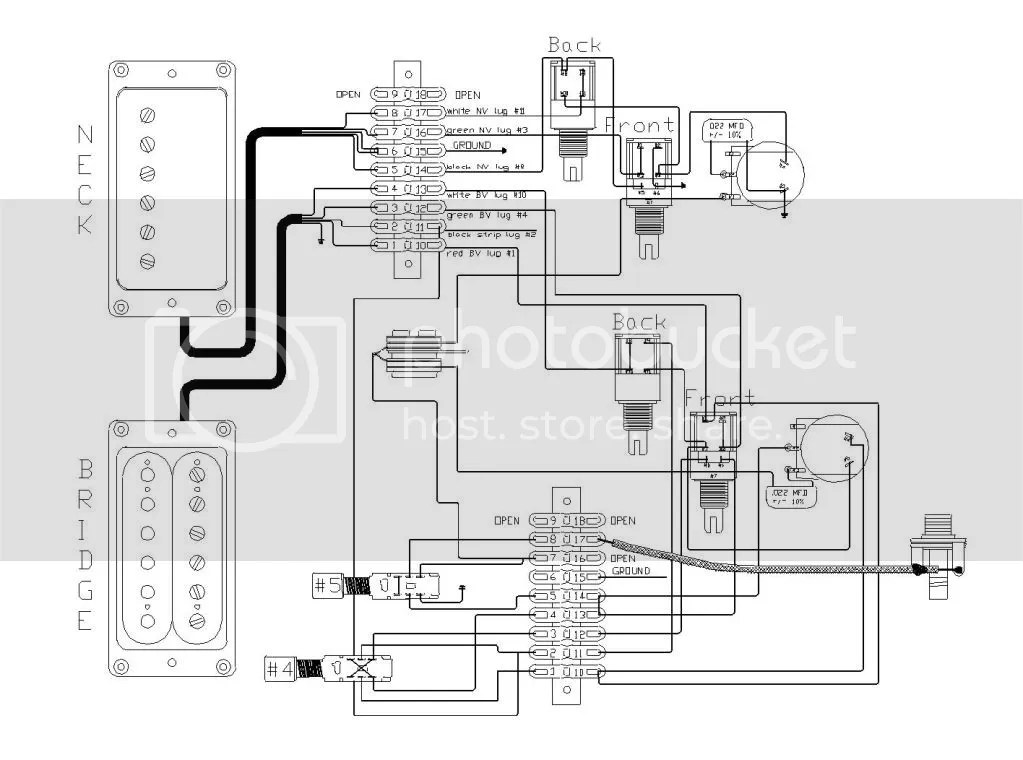 Jimmy Page #2 wiring